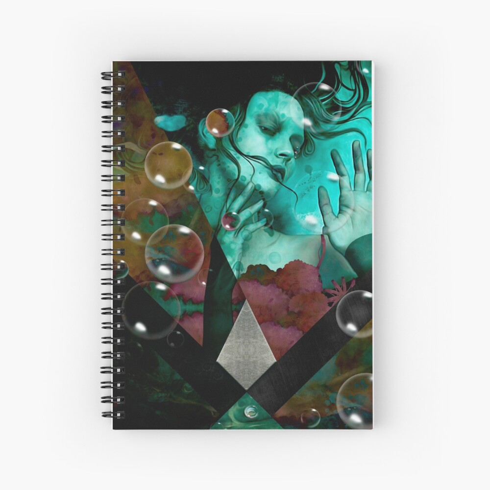 """""""The witch of the water forest""""  Cuaderno de espiral"""