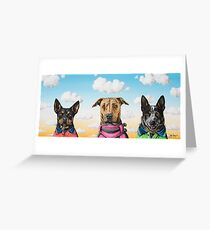 Working Dogs Greeting Card