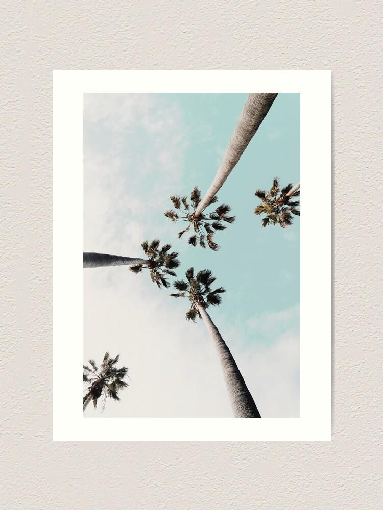 Alternate view of Palm trees Palms print Art Print