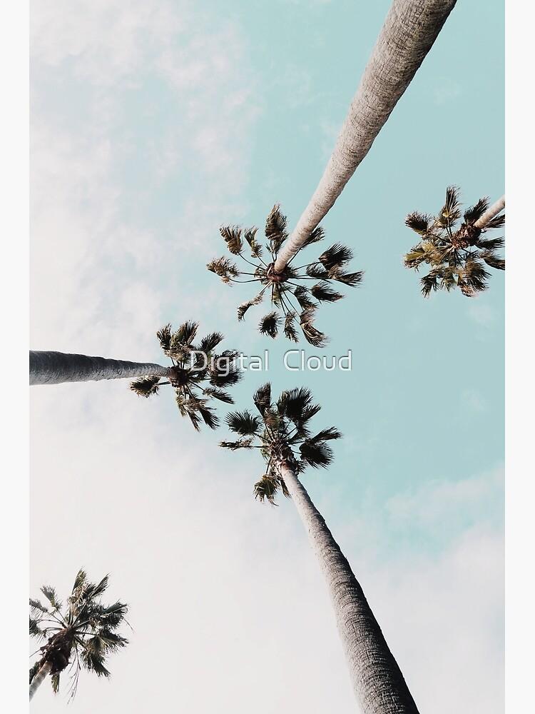 Palm trees Palms print by nth4ka
