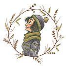 Winter Wreath by EmilyCarrier