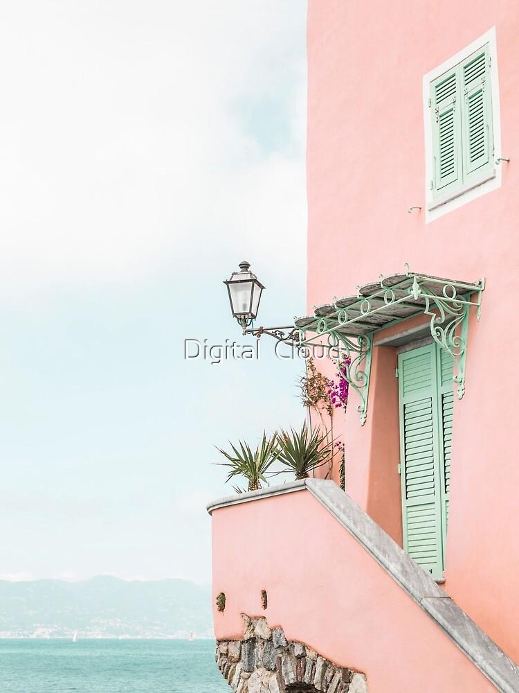 Ocean pink beach house by nth4ka