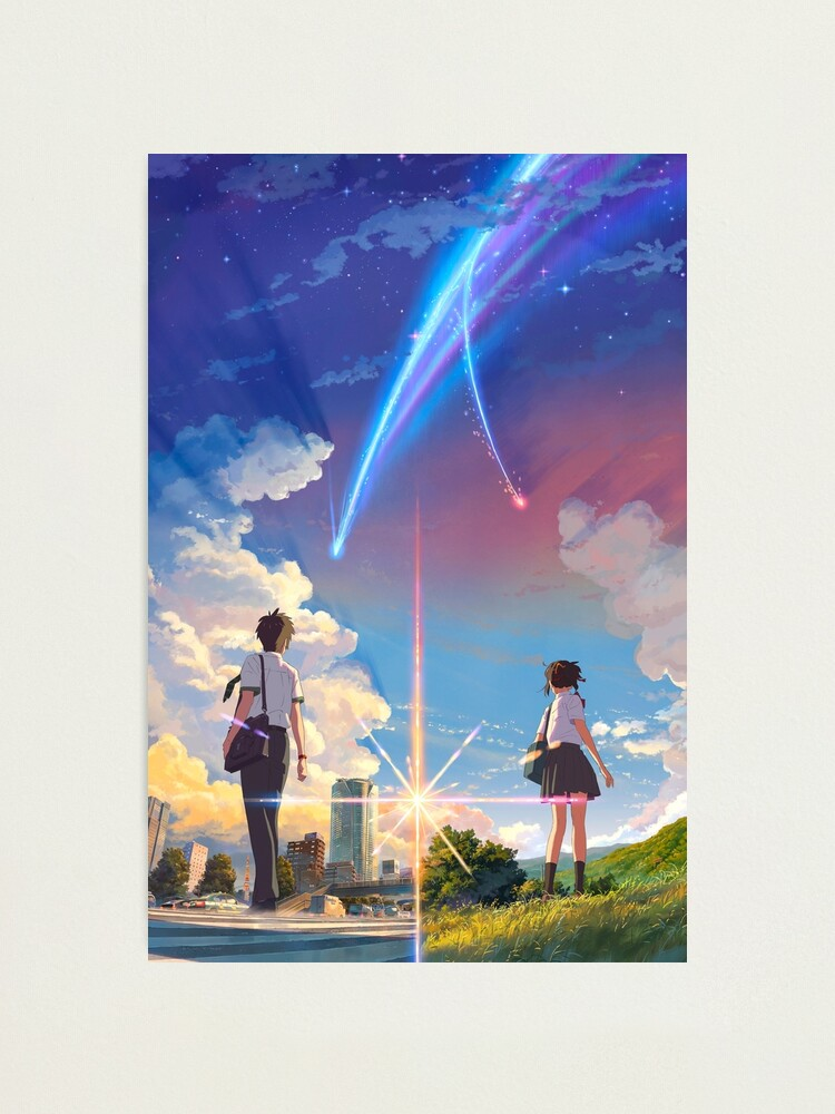 Theatrical Poster High Quality Prints Kimi No Na Wa Your Name