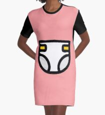Diaper ABDL DDLG MDLB Graphic T-Shirt Dress