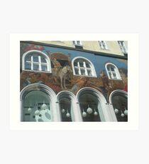 My last trip to Vienna -  Art Print