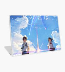 kimi no na wa // your name poster with text BEST RES Laptop Skin