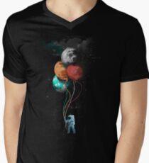 The Spaceman's Trip Men's V-Neck T-Shirt