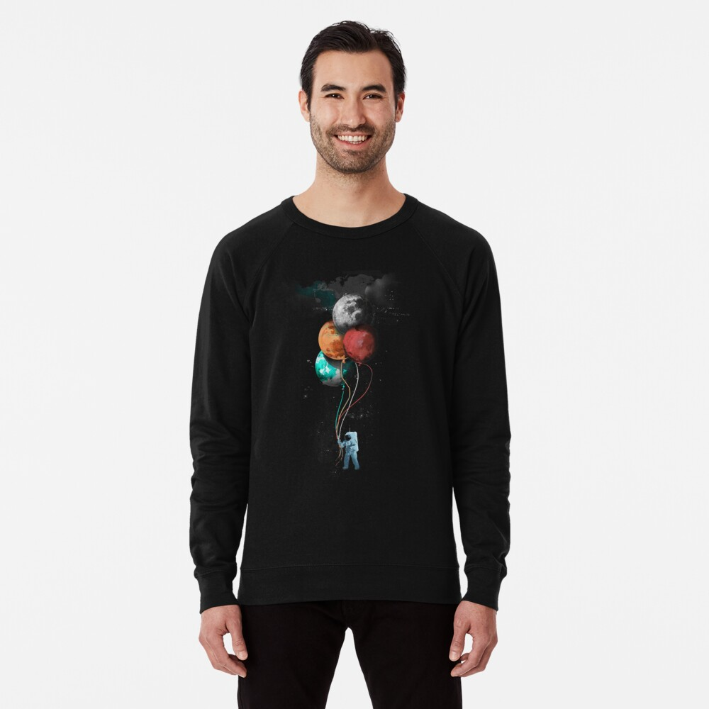 The Spaceman's Trip Leichter Pullover