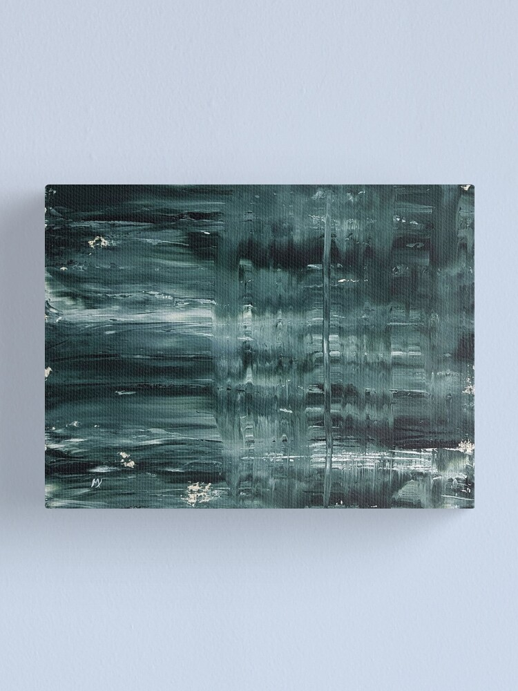 Alternate view of I Begged The Rain To Stay Canvas Print