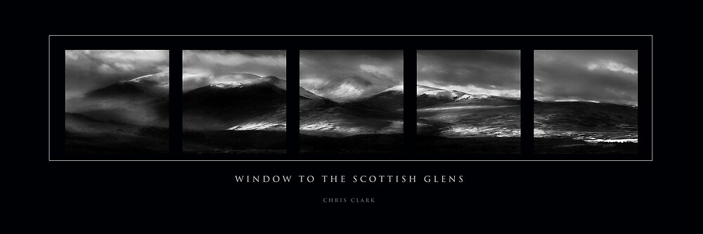 WINDOW TO THE SCOTTISH GLENS by Chris Clark