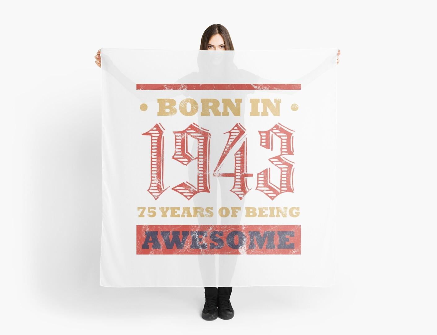 75 Year Old Birthday Gift