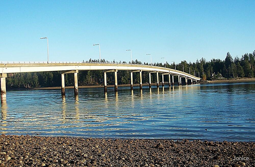 Hartstein Island Bridge by Jonice
