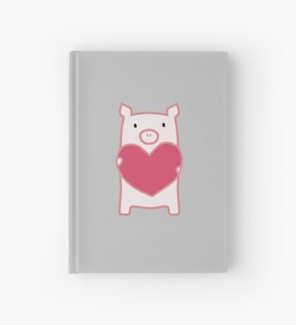 Pig Love Hardcover Journal