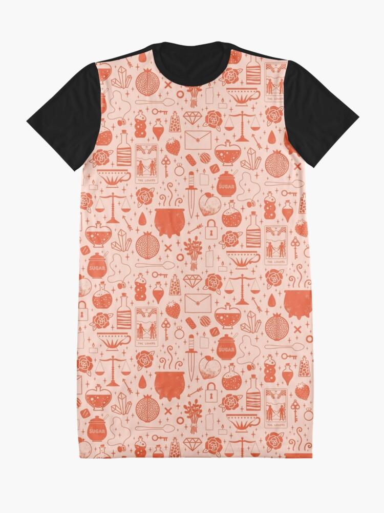 Alternate view of Love Potion: Valentine Graphic T-Shirt Dress