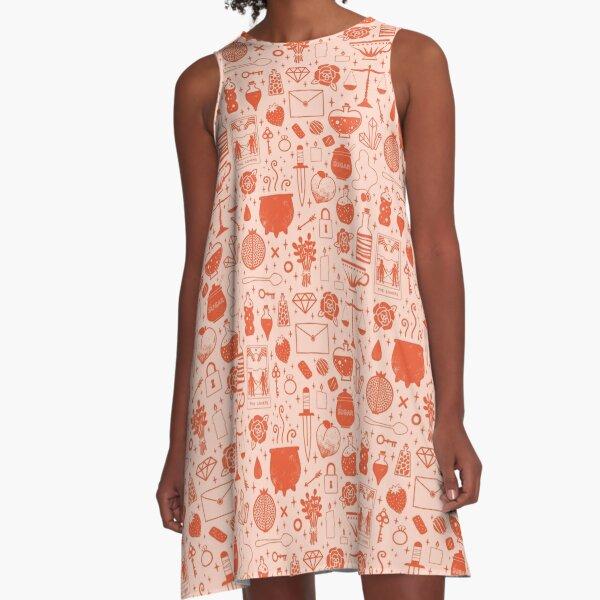 Love Potion: Valentine A-Line Dress