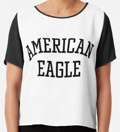 American Eagle Chiffon Top
