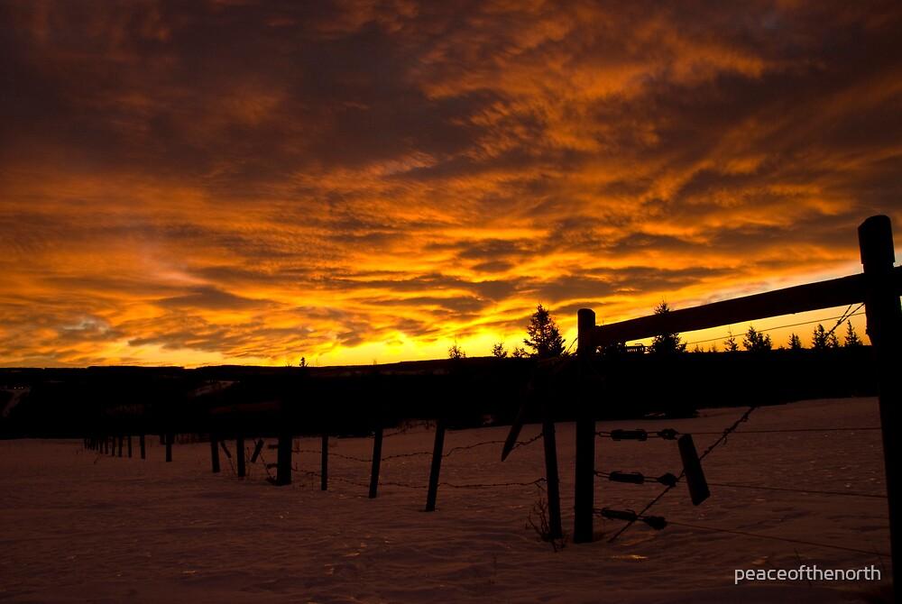 Stoddard Sunrise by peaceofthenorth