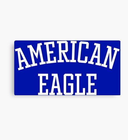 American Eagle (White) Canvas Print
