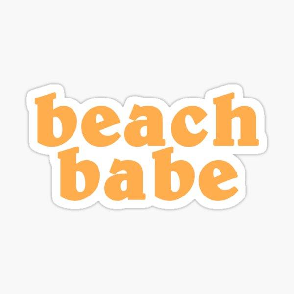 Strandbaby Sticker