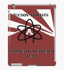 Tucson Atheists Community Out Reach Team Logo iPad Case/Skin