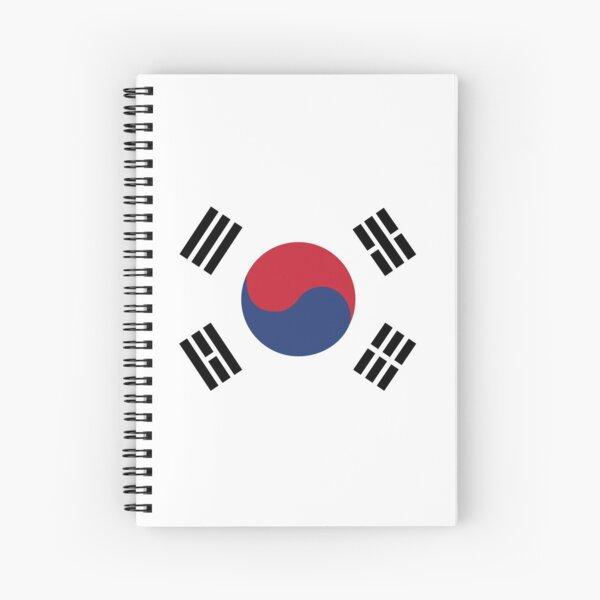 Corée du Sud Cahier à spirale