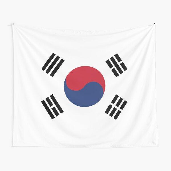 South Korea Tapestry