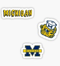 University of Michigan Minis Sticker