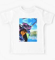 Neon Genesis Evangelion - Evangelion Unit-01 Kids Tee