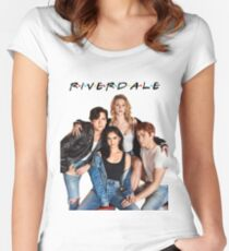 Riverdale / F•R•I•E•N•D•S Women's Fitted Scoop T-Shirt