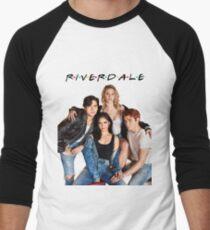Camiseta ¾ bicolor para hombre Riverdale / F • R • I • E • N • D • S