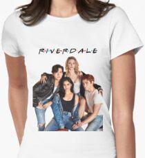 Riverdale / F•R•I•E•N•D•S Women's Fitted T-Shirt