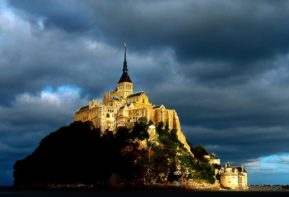 Mt St Michel by McAdooImages