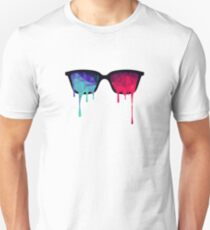 3D Psychedelic / Goa Meditation Glasses Unisex T-Shirt
