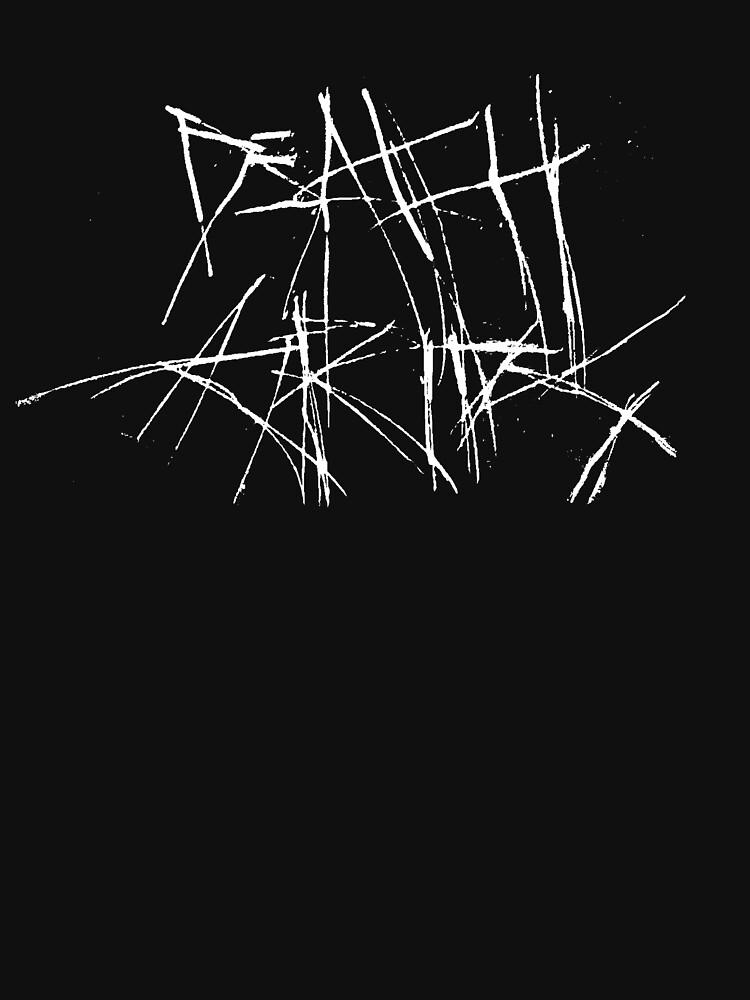 Todesgriffe - Gekratztes Logo von edumisilva