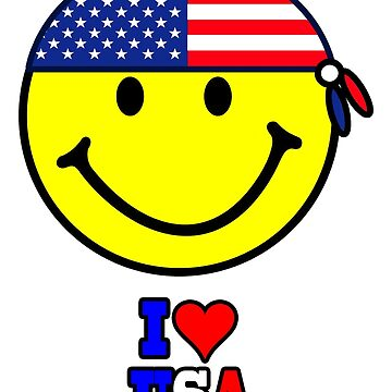 I LOVE USA by mago