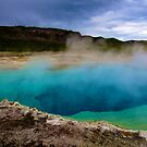Geothermal Pool at Yellowstone National Park by Chrissy Ferguson