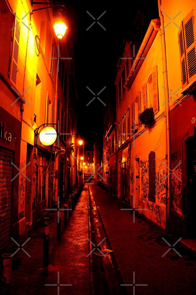 street on fire by nguyen