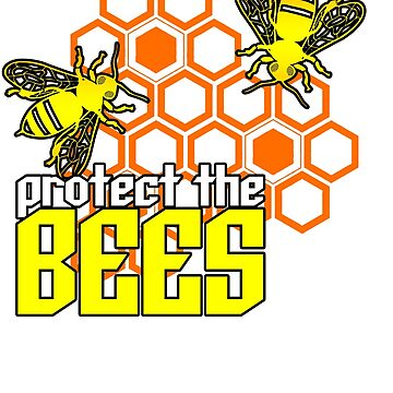 Protect The Bees by MellowSphere