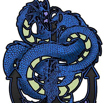 Sea Serpent by VitorAdler