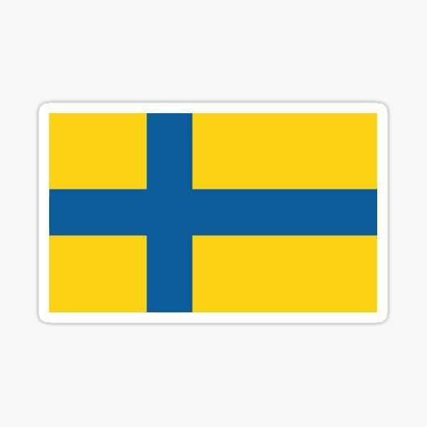 Ostergotlands Landskapsvapen Sticker By Stenbulle Redbubble