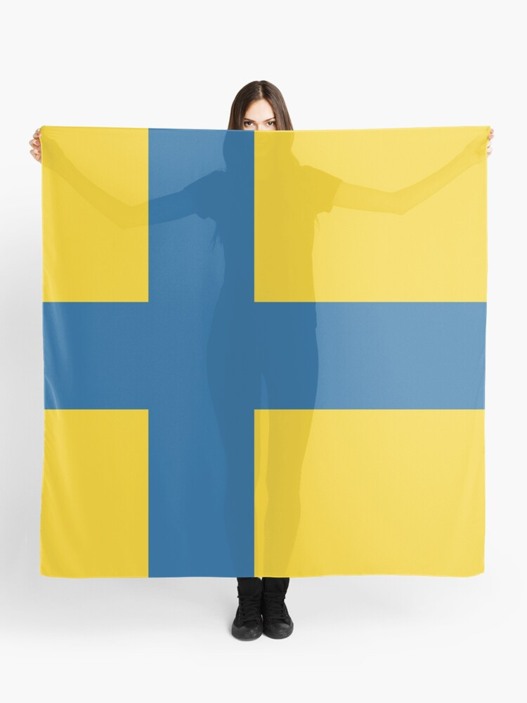 Ostergotland Scarf By Wickedcartoons Redbubble