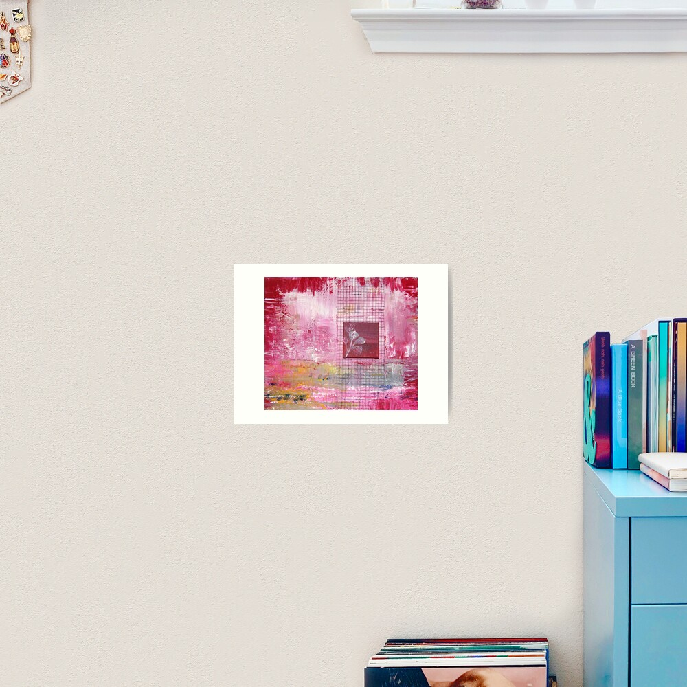 Gridrose Art Print