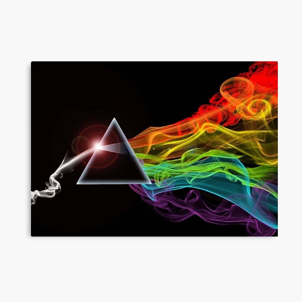 Pink Floyd - El lado oscuro de la luna Lienzo