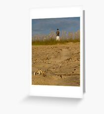 Little Lighthouse Keeper Greeting Card