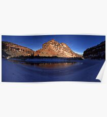 Unaweep Canyon, Frozen Dolores River Poster