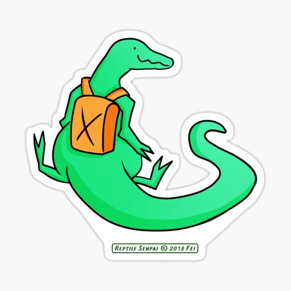 Reptile Senpai S04E02 Sticker