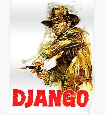 Django - The One and Only Poster