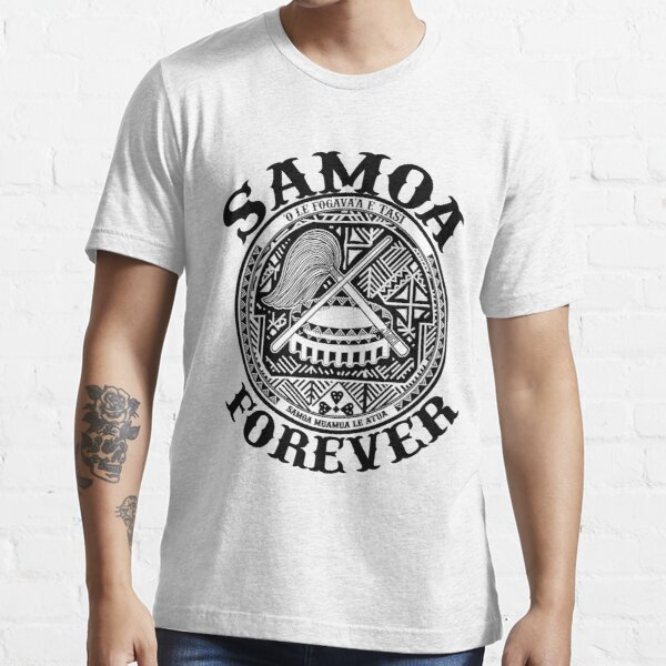Samoa Forever Crest Seal Design  Essential T-Shirt