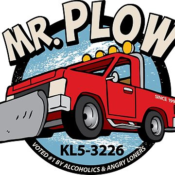 Mr Plow by rockbottomau