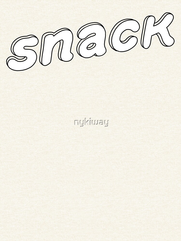You're a Snack White by nykiway